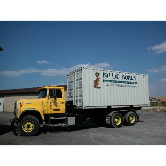 Cole Hire Self Drive Vans Moving House Van: Billie Boxes, Sarnia ON