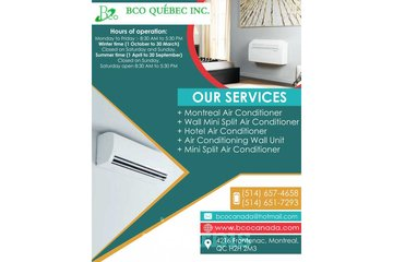 air conditioning wall unit Montreal | BCO Quebec Inc