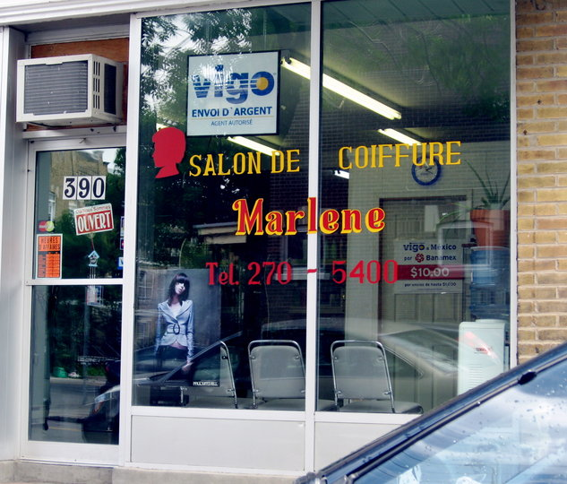 Salon De Coiffure Marlene Montr Al Qc Ourbis