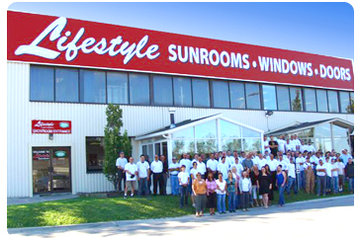 Lifestyle Sunrooms Windows & Doors