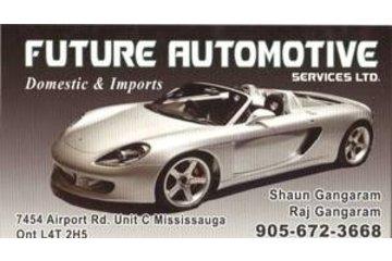Future Automotive Services Ltd in Mississauga: http://futureautomotive.ca