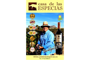 "Premium Quality Wine from Spain ""CASA DE LAS ESPECIAS"""