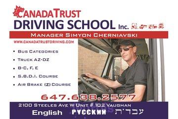 Canada Trust Driving School