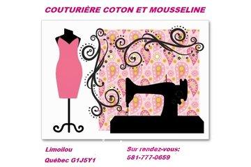 Couturière coton et mousseline