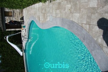 Eurobloq Inc in Boisbriand: Contour de piscine en pierre Autentica Eurobloq