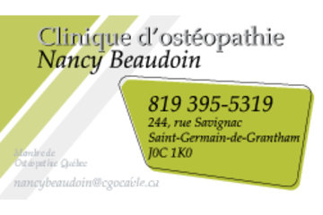 Clinique d'ostéopathie Nancy Beaudoin
