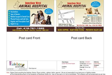 Junction west animal hospital in Toronto