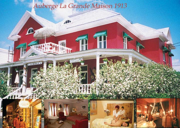 Auberge la grande maison baie saint paul qc ourbis for Auberge la maison otis baie st paul quebec