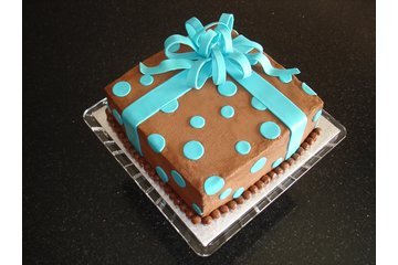 """""""Say It With Cake!"""" in Guelph: Chocolate on Chocolate Fudge Birthday Present Cake"""