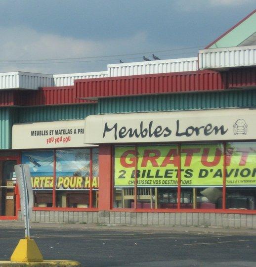 Meubles loren inc longueuil qc ourbis for Ameublement longueuil