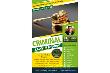 Saggi Law Firm in BRAMPTON: Criminal Lawyer Nearby