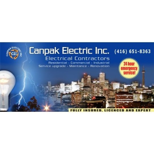 Canpak Electric Toronto On Ourbis