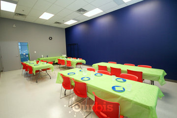 Air Riderz Trampoline Park in Mississauga: Blue Party Room
