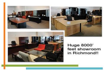 Techno Office Furnishings Ltd in Richmond: 8000' Showroom