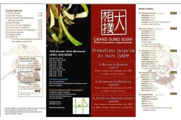 Restaurant Grand Sumo in Brossard: COMBOS POUR EMPORTER ETR LIVRAISON