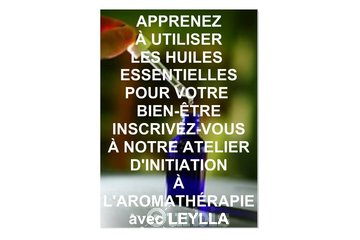 LEYLLA Biocosmetics in Sainte-Agathe-des-Monts: Atelier d'Aromathérapie
