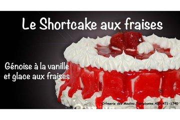 Crémerie Des Moulins in Terrebonne: Gâteau shortcake aux fraises