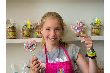 Fêtes d'enfants Sweet Isabelle à Montreal: Activité de décoration de biscuits et fête d'enfant à Montréal