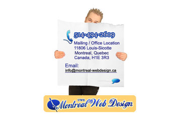 Montreal Web Design - Web programming - Online Marketing