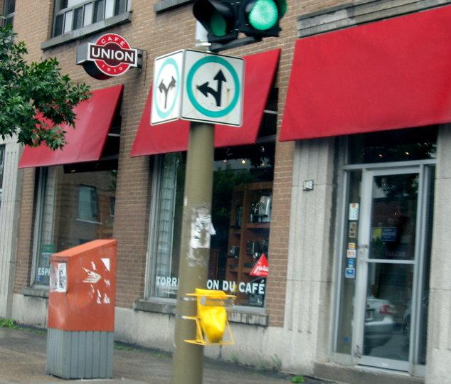 Caf union montr al qc ourbis for Equipement de restaurant montreal