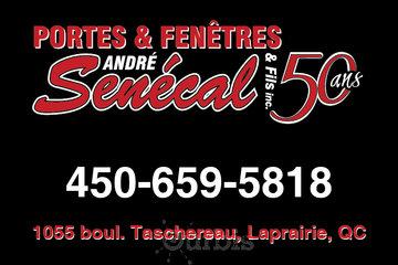 Portes et Fenêtres André Senécal & Fils Inc in La Prairie: Porte et Fenêtre Senécal à La Prairie