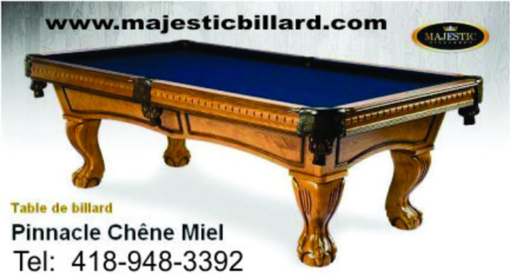 fr b QC Quebec Majestic Billard