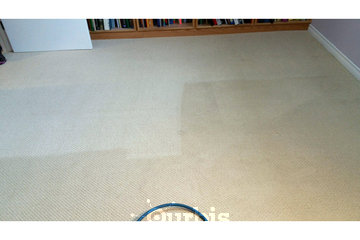 AlbertaPro Cleaning in Calgary: carpet cleaning result