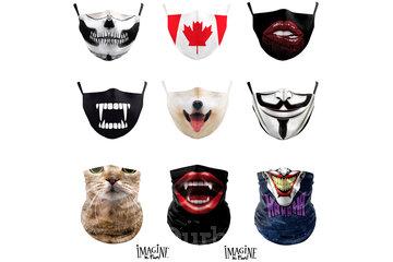 Imagine Le Fun in Montréal: face masks/ masques lavables