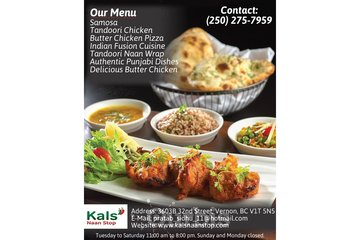Kals' Naan Stop | Fresh Indian food in Vernon