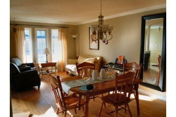Ready to List Home Staging & Design in Brooklin: before - living/dining room