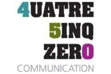 Quatre Cinq Zero Communication