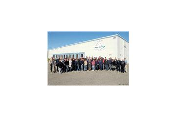 Aerospatiale Hemmingford Inc in Hemmingford: Photo Usine et son personnel