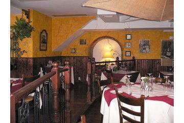 Restaurant Le Boeuf Gourmand in Montréal: vue interieur
