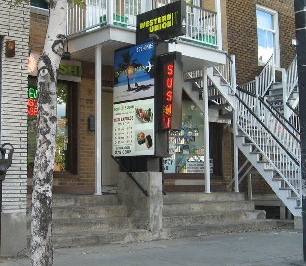 Restaurant Rue Jarry Montreal