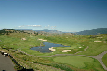 Predator Ridge Golf Resort in Vernon: View