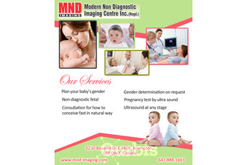 Modern Non Diagnostic Imaging Center Inc. Regd in brampton: Gender Determination Brampton