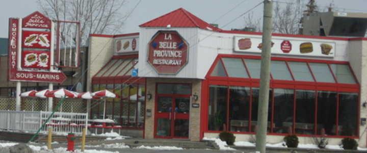 Restaurant La Belle Province Saint Hubert Qc