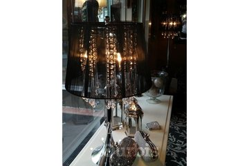 Cranberry Rose Boutique & Tea House in Moose Jaw: Black Shade with Crystals