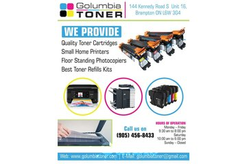 Golumbia Toner | Best toner refill kits Brampton