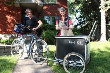 Vétérinaire à vélo à Saint-Lambert