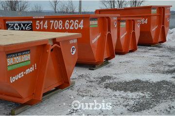 Location de conteneurs - Zone Conteneurs Inc - Louer à Mirabel: Conteneurs 5 à 20 verges cube disponibles