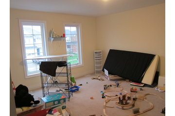 Ready to List Home Staging & Design in Brooklin: before - bedroom