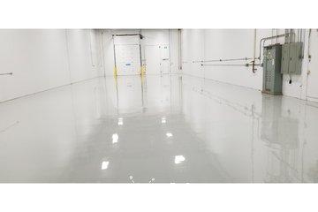 JKO Coatings & services in calgary: Warehouse Epoxy Hanger White Coating