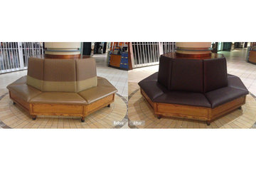 Fibrenew Levis in Lévis: mall seating restoration