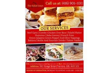 The Halal Guys    Tahini  falafel   Toronto