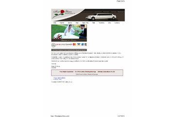 First Glance Limousine Service Ltd