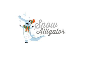 Snow Alligator by Jason Blower