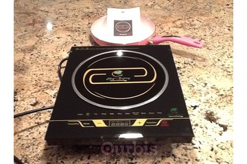 Chef~Exprez Biz Center in North Vancouver: On-in-One Induction Cooktop Bonus Induction Frying Pan 45% off