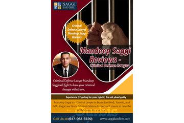 Saggi Law Firm in BRAMPTON: Mandeep Saggi Reviews -  Criminal Defence Lawyer