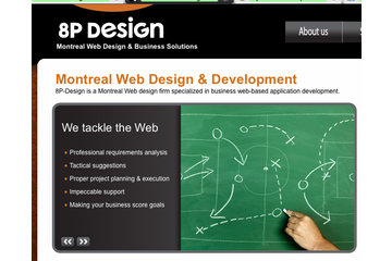 8P Design | Creation Site Web | Montreal Website Development